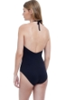 Gottex Eros Black High Neck Halter One Piece Swimsuit