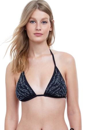 Gottex Exotica Triangle Bikini Top
