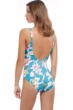Gottex Classics Hitachi V-Neck Surplice One Piece Swimsuit