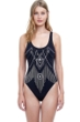 Gottex Love Story Round Neck One Piece Swimsuit