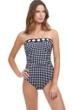 Gottex Essentials Marilyn Bandeau One Piece Swimsuit