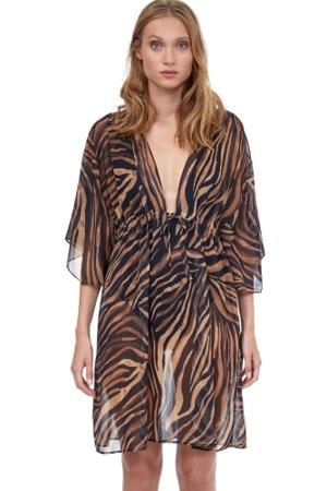 Gottex Panthera Beach Cover Up Dress