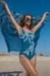 Gottex Essentials Portofino Full Coverage Square Neck One Piece Swimsuit