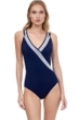 Gottex Essentials Socialite V-Neck Surplice One Piece Swimsuit
