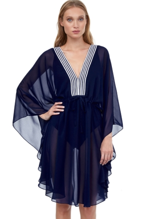 Gottex Essentials Socialite Short Caftan Cover Up Dress