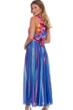 Gottex Classics Italian Summer High Neck Zip Long Cover Up Dress