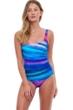 Gottex Essentials Midnight Light Full Coverage Square Neck One Piece Swimsuit