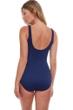 Gottex Essentials Sea Shells Textured Full Coverage Square Neck One Piece Swimsuit