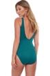 Gottex Essentials Sea Shells Textured Mastectomy High Neck One Piece Swimsuit