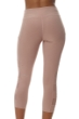 X by Gottex Victorian Pink Mesh Sides High Waisted Captain Capri Legging with Pocket
