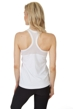 X by Gottex White Shaper Racerback Tank Top