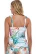Profile by Gottex Tropico Multi White Underwire Tankini Top