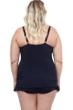 Profile by Gottex Tropico Plus Size Halter Underwire Swimdress