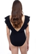 Profile by Gottex Pleat It Deep V-Neck One Piece Swimsuit