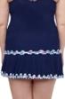 Profile by Gottex Snake Charm Plus Size Side Slit Cinch Swim Skirt