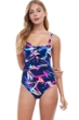 Profile by Gottex Paradise Cup Sized Underwire One Piece Swimsuit