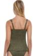 Profile by Gottex Luminous Safari Cup Sized Underwire Tankini Top
