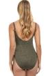 Profile by Gottex Luminous Safari Round Neck One Piece Swimsuit