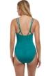 Profile by Gottex Luminous Safari V-Neck One Piece Swimsuit