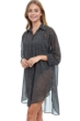 Profile by Gottex Luminous Safari Button Down Long Sleeve Cover Up Dress