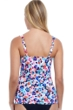 Profile by Gottex Leopard Cup Sized Underwire Tankini Top