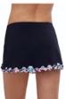 Profile by Gottex Leopard Side Slit Cinch Swim Skirt