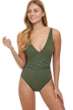 Profile by Gottex Tailor Made V-Neck One Piece Swimsuit