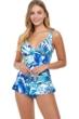 Profile by Gottex Escape In Bali Cup Sized Underwire Swimdress
