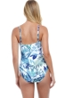 Profile by Gottex Escape In Bali V-Neck One Piece Swimsuit