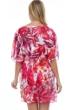 Profile by Gottex Escape In Bali V-Neck Mesh Cover Up Dress