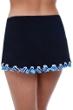 Profile by Gottex Tempo Side Slit Cinch Swim Skirt