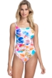 Profile by Gottex Splash D-Cup Scoop Neck One Piece Swimsuit