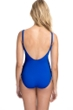 Profile by Gottex Date Night Sapphire Side Shirred One Piece Swimsuit