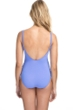 Profile by Gottex Date Night Lavender Side Shirred One Piece Swimsuit