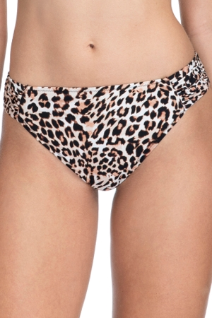 Profile by Gottex Wild Thing Leopard Side Tab Hipster Bikini Bottom
