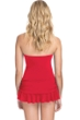 Profile by Gottex Bel Aire Paprika Bandeau Swimdress