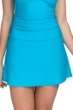 Profile by Gottex Ribbons Azure Textured Cover Up Skirt