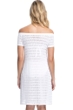 Profile by Gottex Roulette Ivory Off the Shoulder Dress