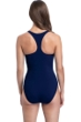 Profile by Gottex Zip it Up Navy Round Neck Racerback Zip Front One Piece Swimsuit