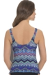 Profile by Gottex Skyline Shirred Tankini Top