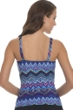 Profile by Gottex Skyline E-Cup Shirred Underwire Tankini Top