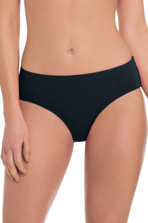 Profile by Gottex Black Tutti Frutti Full Brief Swim Bottom