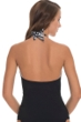 Profile by Gottex Madeira Cross Over Underwire Halter Tankini Top