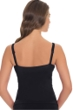 Profile by Gottex Black Waterfall D-Cup Underwire V-Neck Tankini Top