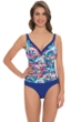 Profile by Gottex Madame Butterfly Underwire One Piece Swimsuit