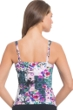 Profile by Gottex Fuji D-Cup Shirred Underwire Tankini Top