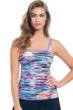 Profile by Gottex Venice Beach Shirred Tankini Top