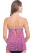Profile by Gottex Rio D-Cup Bandeau Fly Away Tankini Top