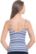 Profile by Gottex Ixtapa D-Cup Cross Over Tankini Top
