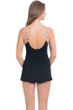 Profile by Gottex Ixtapa Cross Over Ruffle Swimdress